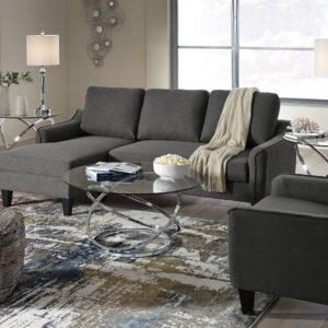 Jarreau - Gray - Queen Sofa Sleeper & Chair