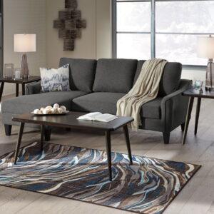 Jarreau - Gray - Queen Sofa Sleeper & Fazani Table Set