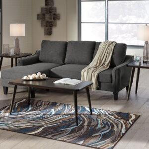 Jarreau - Gray - Queen Sofa Sleeper & Hollynyx Table Set
