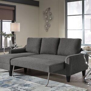 Jarreau - Gray - Sofa Chaise Sleeper