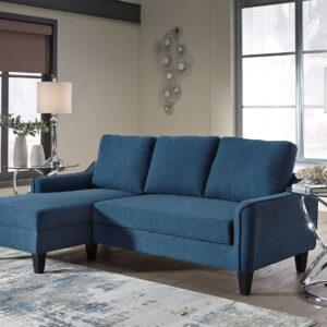 Jarreau - Blue - Sofa Chaise Sleeper