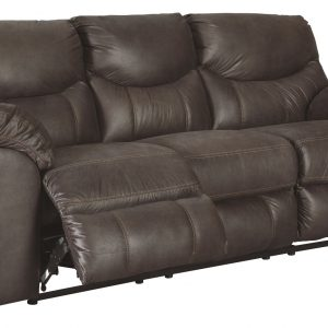 Boxberg - Teak - Reclining Power Sofa 1