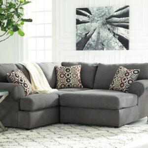 Jayceon - Steel - LAF Sofa & RAF Corner Chaise Sectional