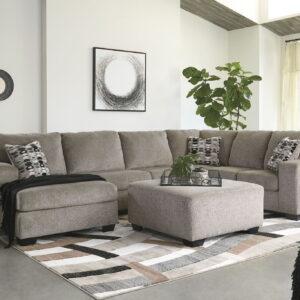 Ballinasloe - Platinum - LAF Corner Chaise