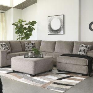 Ballinasloe - Platinum - LAF Sofa