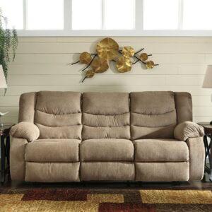 Tulen - Mocha - Reclining Sofa