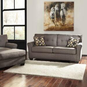 Tibbee - Slate - Sofa & Chaise