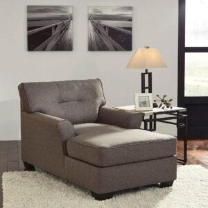 Tibbee - Slate - Sofa & Chaise 1
