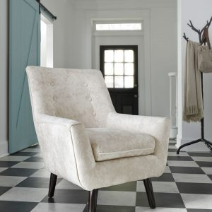 Zossen - Ivory - Accent Chair