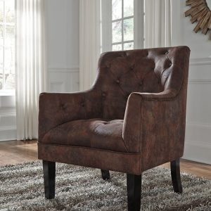 Drakelle - Mahogany - Accent Chair