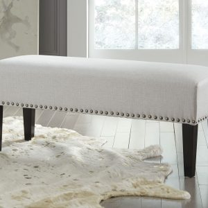 Beauland - Ivory - Accent Bench