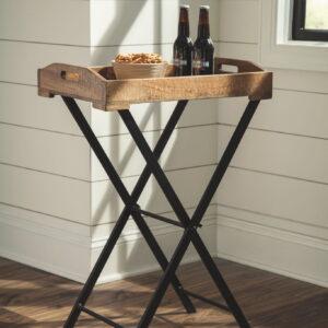 Cadocridge - Brown/Black - Accent Table