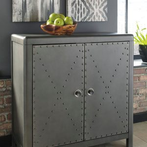 Rock Ridge - Gunmetal Finish - Accent Cabinet
