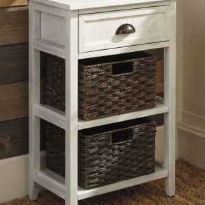 Oslember - White - Accent Table
