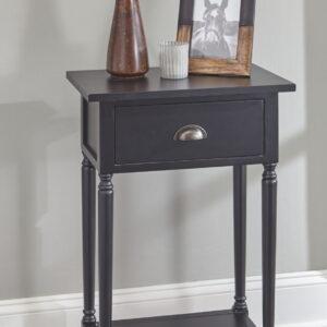 Juinville - Black - Accent Table