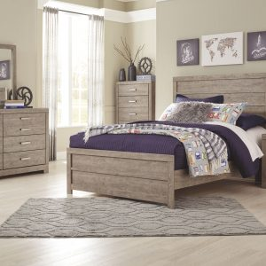 Culverbach - Gray - Full Panel Bed 1