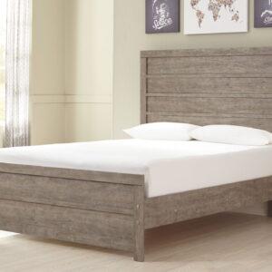 Culverbach - Gray - Full Panel Bed