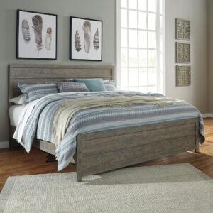Culverbach - Gray - King Panel Bed