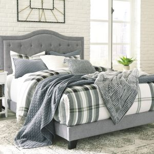 Jerary - Gray - Queen Upholstered Bed