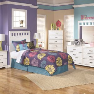 Lulu - White - 3 Pc. - Dresser