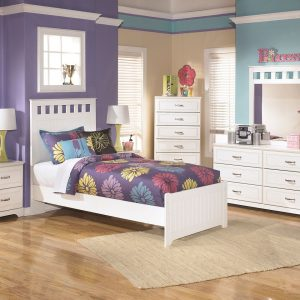 Lulu - White - 5 Pc. - Dresser