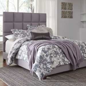 Dolante - Gray - Queen Upholstered Bed