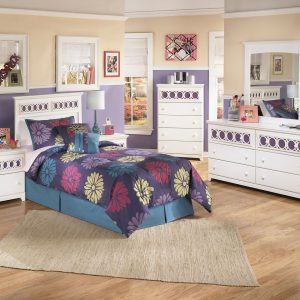 Zayley - White - 3 Pc. - Dresser