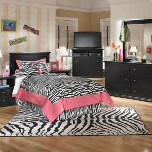 Maribel - Black - 3 Pc. - Dresser