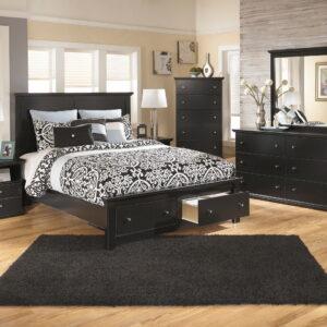 Maribel - Black - 6 Pc. - Dresser