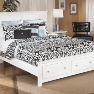 Bostwick Shoals - White - Queen Storage Bed