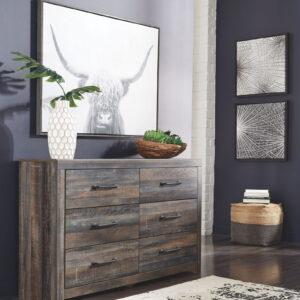 Drystan - Multi - Dresser & Mirror 1