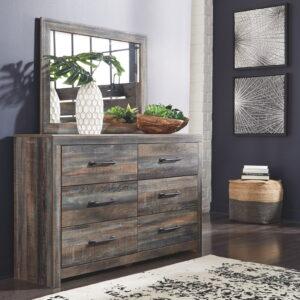 Drystan - Multi - Dresser & Mirror