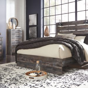 Drystan - Multi - Queen Panel Bed