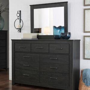 Brinxton - Charcoal - Bedroom Mirror