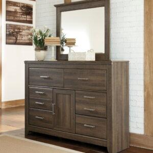 Juararo - Dark Brown - Bedroom Mirror