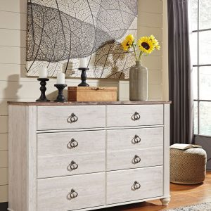 Willowton - Two-tone - Dresser