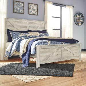 Bellaby - Whitewash - King Panel Bed