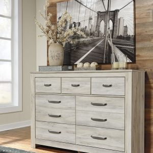 Bellaby - Whitewash - Dresser & Mirror 1