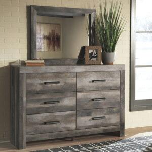 Wynnlow - Gray - Dresser & Mirror
