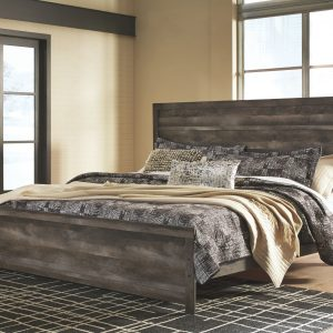 Wynnlow - Gray - King Panel Bed