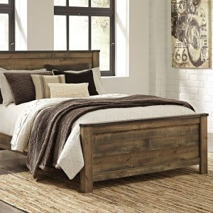 Trinell - Brown - Queen Panel Bed