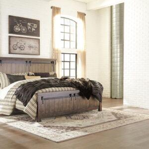 Lakeleigh - Brown - Queen Panel Bed