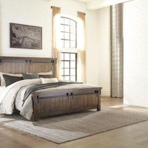 Lakeleigh - Brown - California King Panel Bed