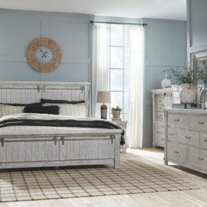 Brashland - White - Queen Panel Bed 1