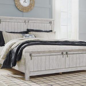 Brashland - White - California King Panel Bed