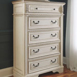 Realyn - Two-tone - Five Drawer Chest