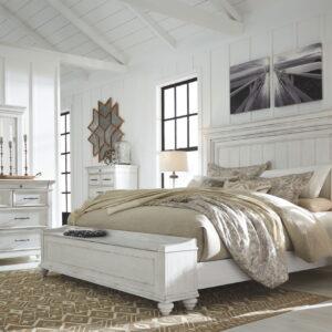 Kanwyn - Whitewash - 8 Pc. - Dresser
