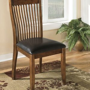 Stuman - Medium Brown - Dining UPH Side Chair each (2/CN)