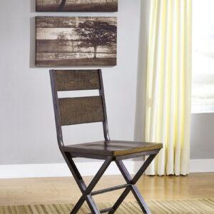 Kavara - Medium Brown - 7 Pc. - RECT DRM Counter Table & 6 Barstools 1