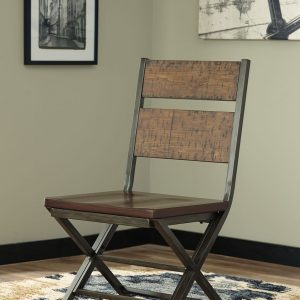 Kavara - Medium Brown - 6 Pc. - REC DRM Table, 4 Chairs & Double DRM Chair 1
